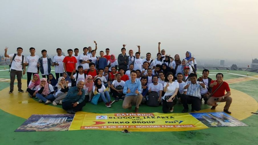 blogger jakarta team bersama pikko group